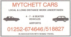 Company rebrand to Mytchett Cars