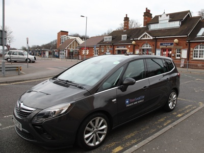 Our new Zafira Tourer vehicle was introduced into the fleet