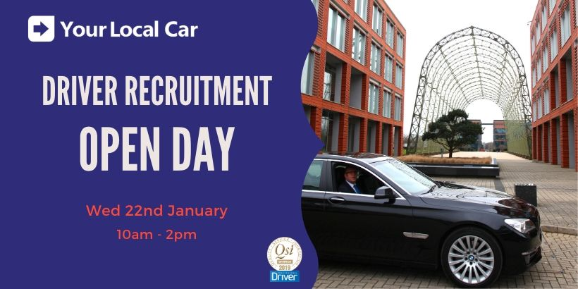 Want a change of direction? Book now for our Driver Recruitment Open Day!