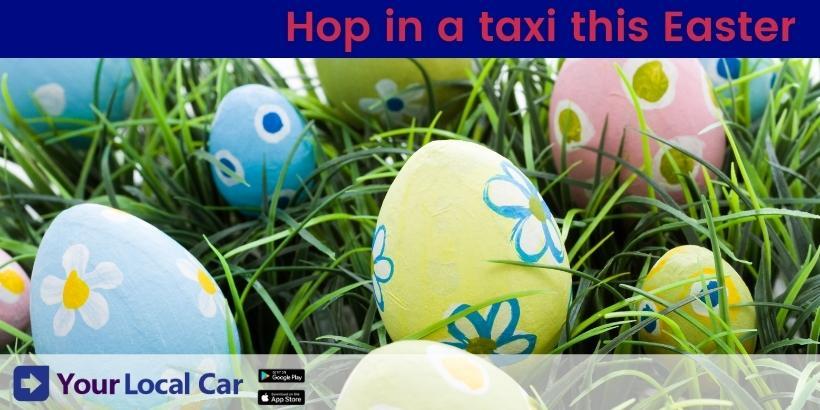 Going to an Easter garden meet-up? Hop in a taxi!